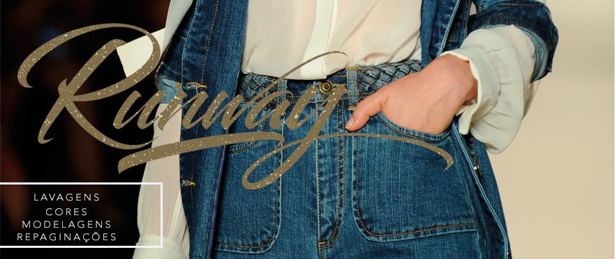jeans na passarela