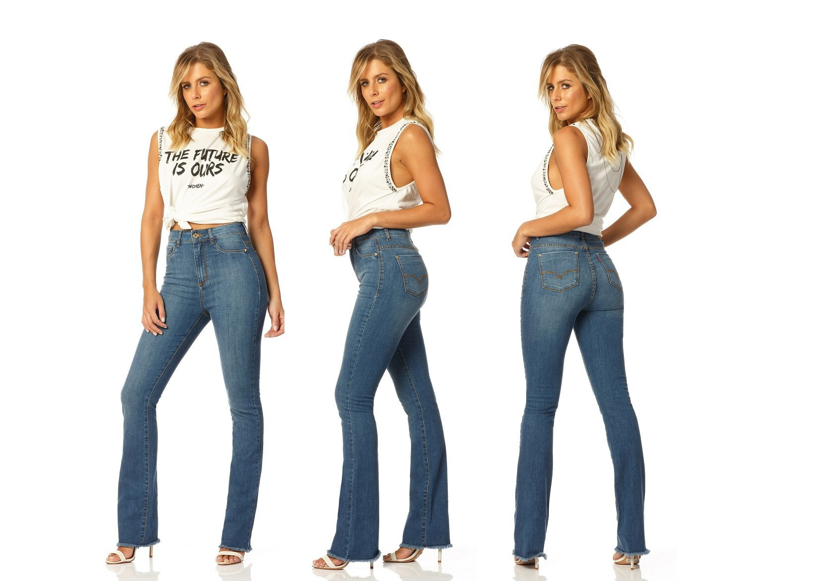 calca boot cut hot pants stone dz2211 denim zero descricao