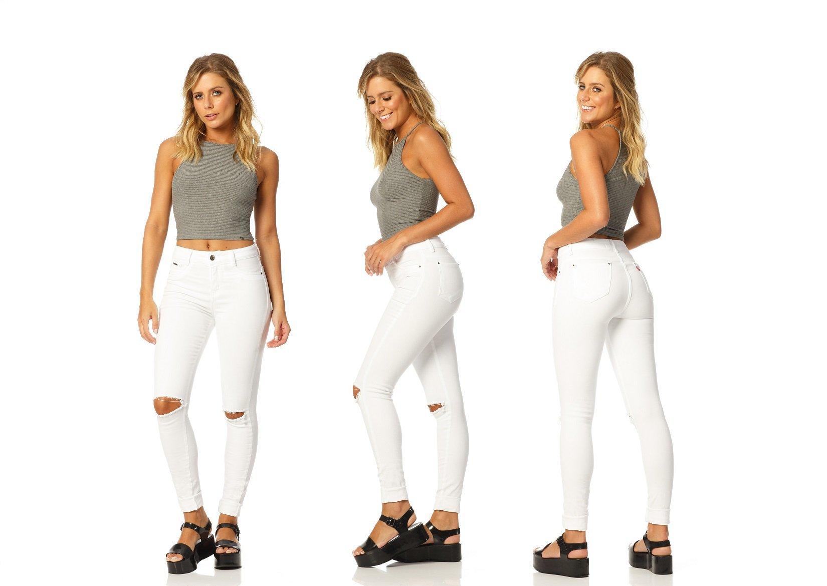 calca skinny media branco dz2374 frente denim zero descricao