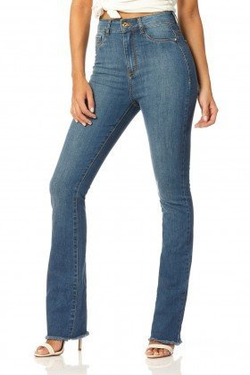 calca boot cut hot pants stone dz2211 frente proxima denim zero
