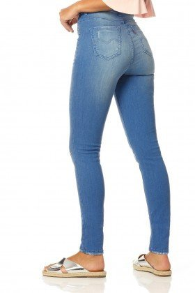 calca skinny hot pants stone dz2317 denim zero costas proximo