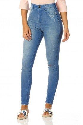 calca skinny hot pants stone dz2317 denim zero frente proximo