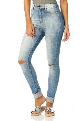 calca skinny hot pants sky dz2321 denim zero frente proximo
