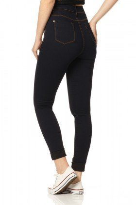 calca skinny hot pants amaciado dz2371 costas proximo denim zero