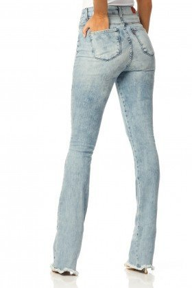 calca boot cut hot pants sky dz2225 costas proximo denim zero