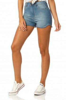 shorts pin up reducao dz6028 frente proximo denim zero