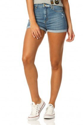 shorts pin up reducao dz6157 denim zero frente proximo