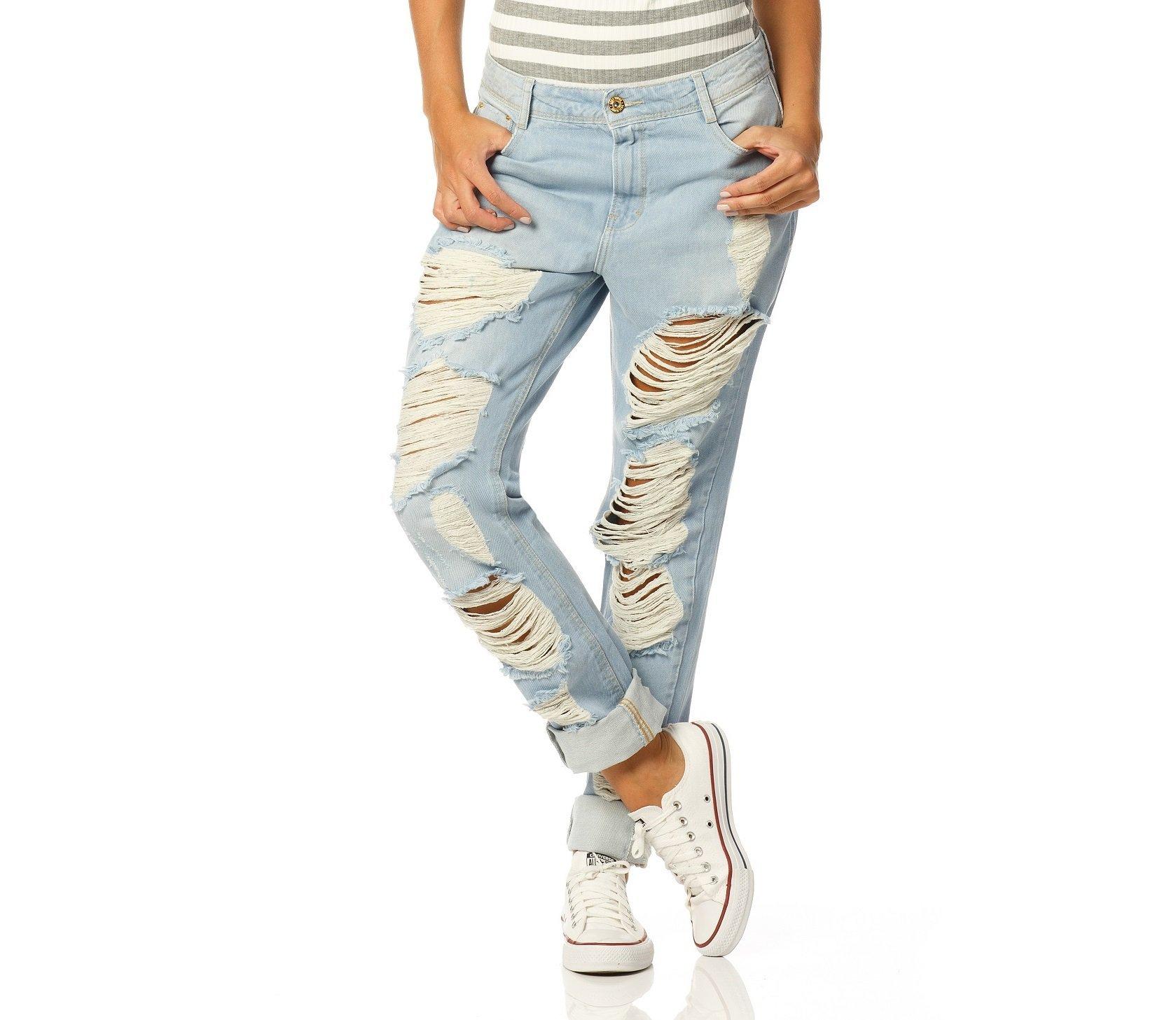 f54b4f154 Calças Jeans Feminina - Denim Zero