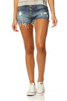 shorts young stone dz6138 frente proximo denim zero