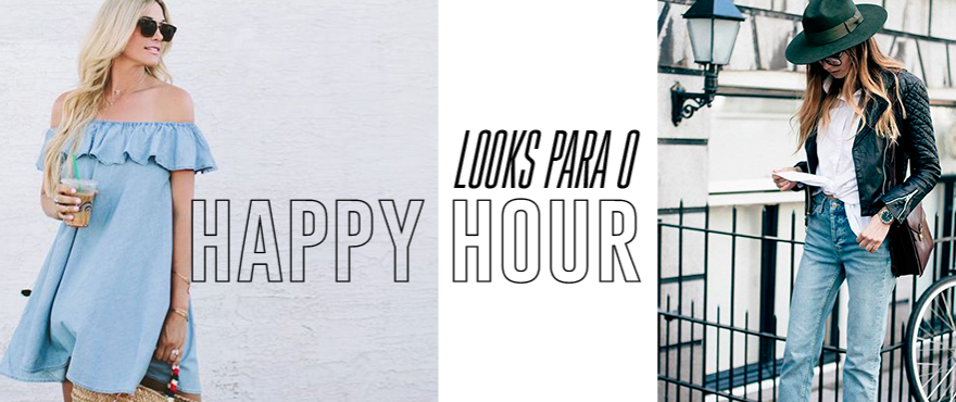 O Seu Happy Hour Mais Estiloso