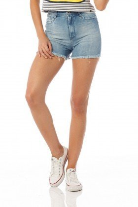 shorts pin up estonado dz6175 frente proximo
