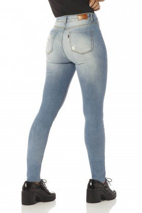 calca skinny media estonada dz2395 costas proximo denim zero