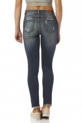 calca skinny cropped hot destroyed dz2452 costas proximo denim zero