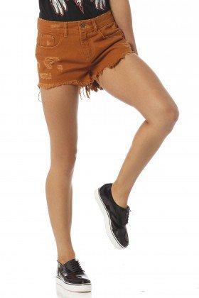 shorts feminino young whisky dz6186 frente proximo denim zero