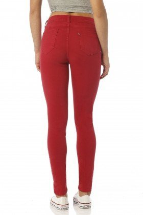 calca color skinny media melancia dz2391 costas proximo denim zero