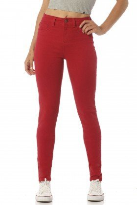calca color skinny media melancia dz2391 frente proximo denim zero