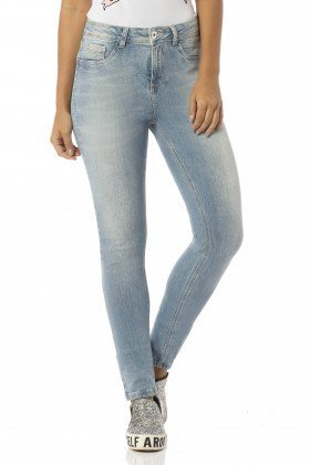 calca skinny media stone claro dz2411 frente proxima denim zero