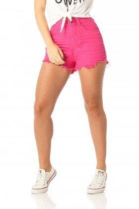 shorts feminino setentinha penelope dz6215 frente proximo denim zero