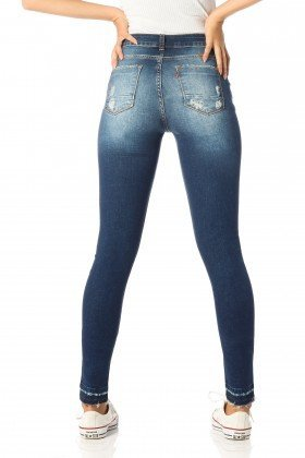 calca skinny media rasgos dz2538 costas proximo denim zero
