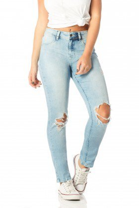 calca skinny media rasgos clara dz2543 frente proximo denim zero