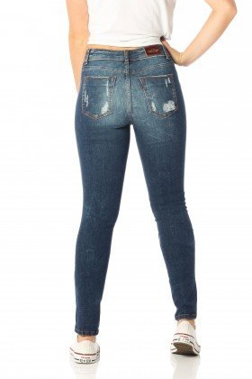 calca skinny media destroyed dz2535 costas proximo denim zero