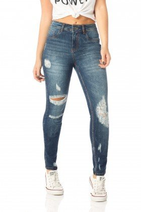 calca skinny media destroyed dz2535 frente proximo denim zero