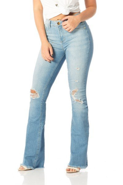 1435f5de2 calca flare media puidos dz2519 frente proximo denim zero