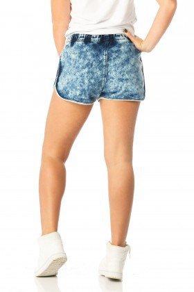 shorts feminino sport marcacao dz6193 costas proximo denim zero