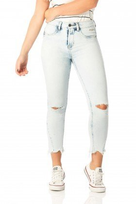 calca skinny media cropped clara dz2532 frente proximo denim zero