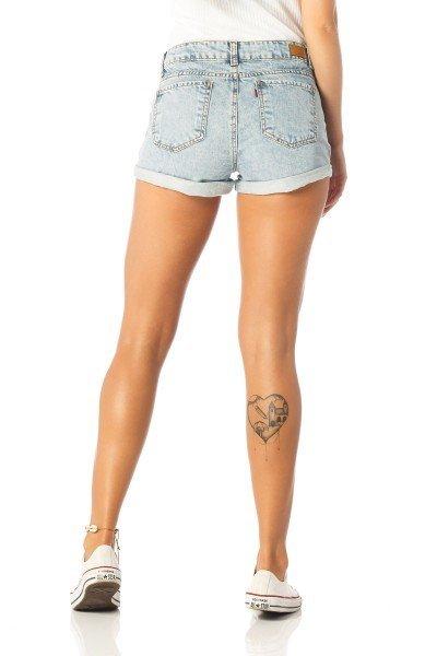488c35a0b ... shorts feminino young barra dobrada dz6197 costas proximo denim zero ...