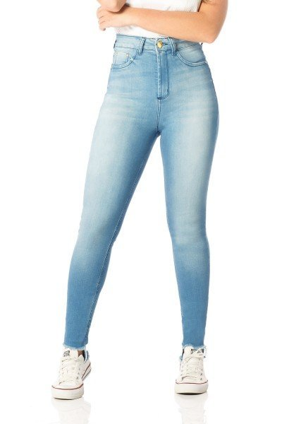 calca skinny hot pants bigodes dz2524 frente proximo denim zero