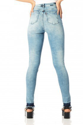 calca skinny hot pants barra escura dz2523 costas proxima denim zero
