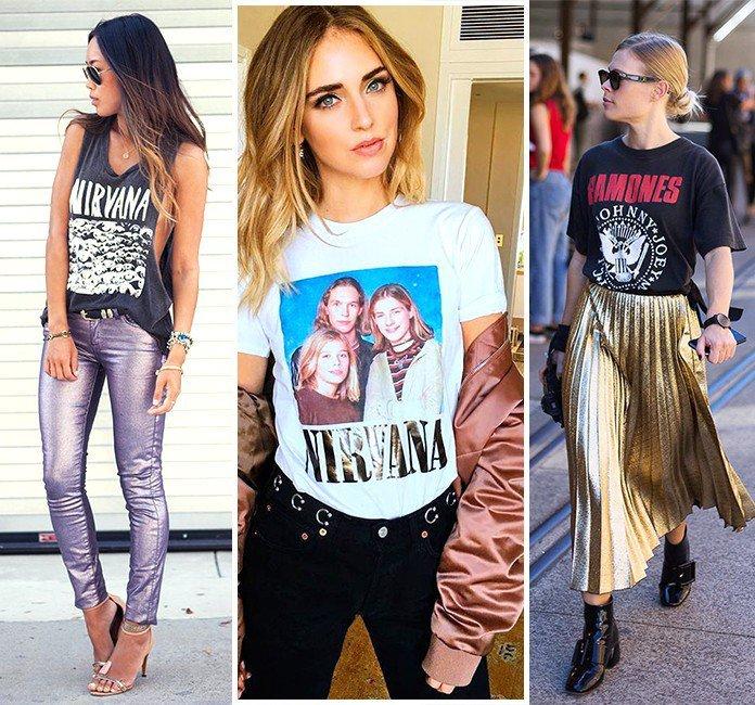 32 os melhores looks com camiseta de banda metal