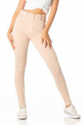 calca skinny hot pants nude roset dz2373 frente proximo denim zero