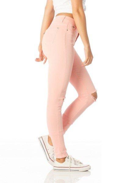 calca skinny media salmao dz2374 lado proximo denim zero