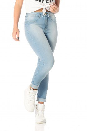 calca skinny media claro dz2556 frente proxima denim zero