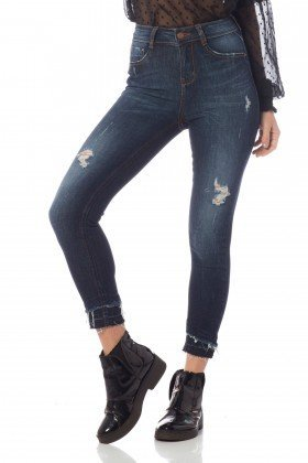 calca skinny media cropped puidos dz2624 frente proximo denim zero copia