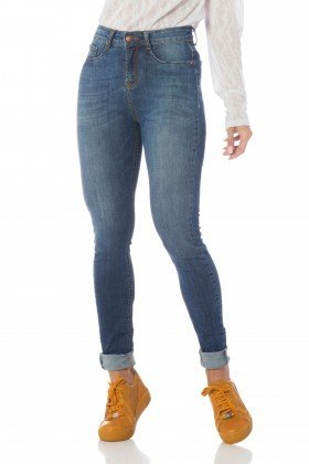 calca skinny media estonada dz2612 frente proximo denim zero