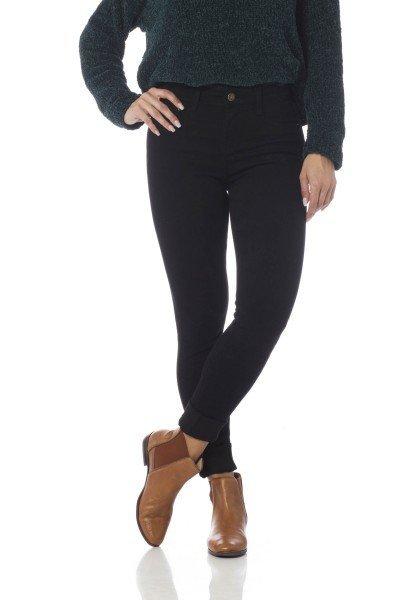 calca skinny media colors dz2560 preto frente proximo denim zero