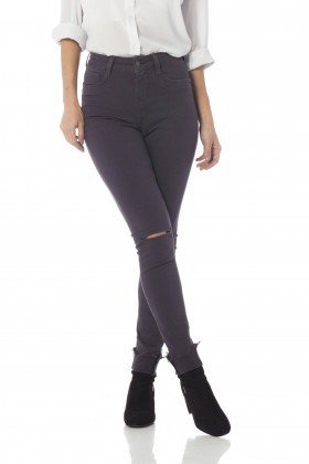 calca skinny media colors dz2564 night gray frente proximo denim zero