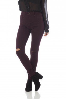 calca skinny media colors dz2564 passion frente proximo denim zero