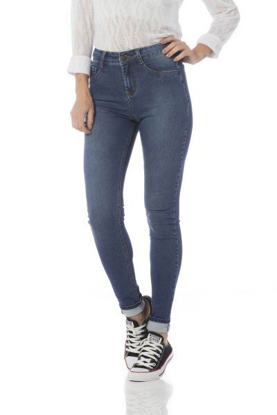 calca skinny media basica dz2610 frente proximo denim zero