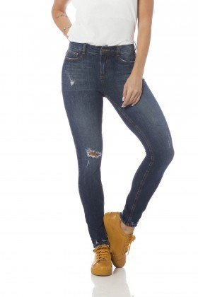 calca skinny media com rasgos dz2631 frente proximo denim zero