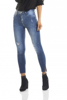 dz2661 calca skinny cropped media frente proximo