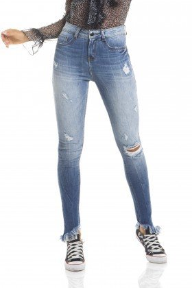 dz2667 calca skinny media frente proximo
