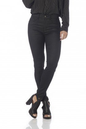 calca skinny media cigarrete resinada dz2651 frente proximo denim zero