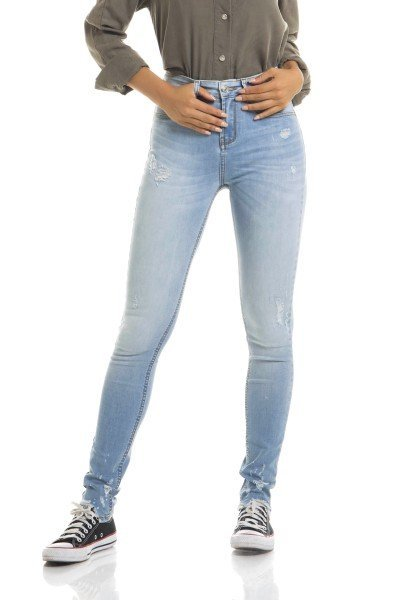 dz2669 calca skinny media frente proximo