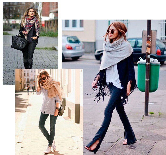01 tipos de lencos para o seu inverno