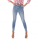 dz2700 calca skinny media barra irregular denim zero frente proximo