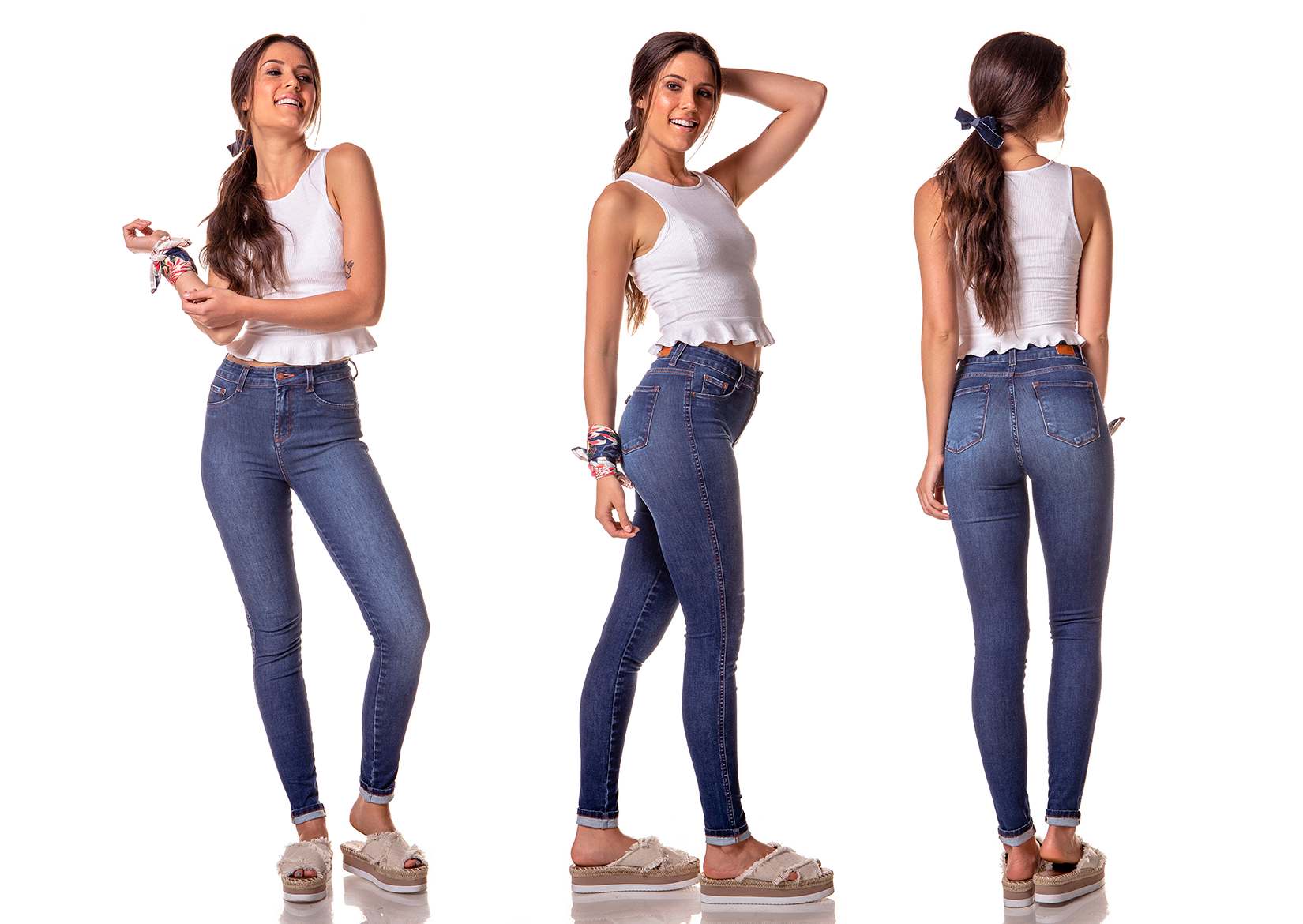 dz2610 11 calca skinny media estonada denim zero tripla